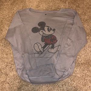 Mickey mouse long sleeve shirt
